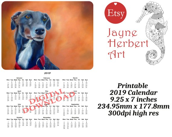 Greyhound calendars and planners